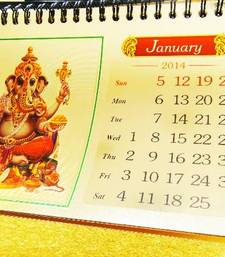 Buy Gold Foil Calendar 2014  gifts-for-him online