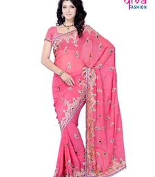 Buy Sumptuous Party/Festival Wear Saree by DIVA FASHION-Surat chiffon-saree online