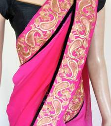 Buy Hot pair saree tussar-silk-saree online