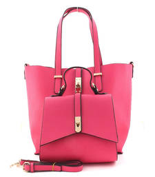 Buy Peach fashion tote bag tote-bag online