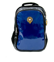 Buy Blue plain backpacks backpack online