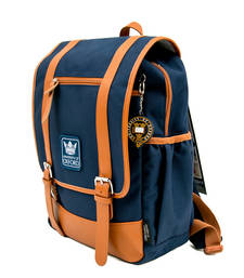 Buy Navy plain backpacks backpack online