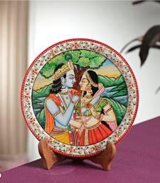 Buy RADHA KRISHNA Marble Plate decorative-plate online