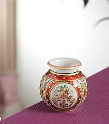 Buy Gold work Marble Pot pot online