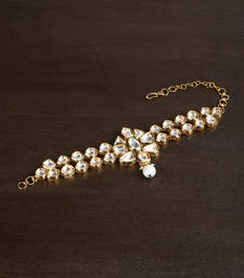 Buy High quality  kundan BAJUBANDH for brides bajuband online