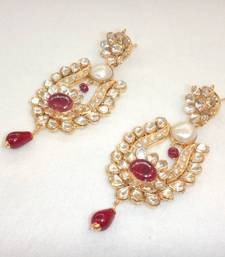 Buy Ruby-Pearl Pacchi Earing eid-collection online