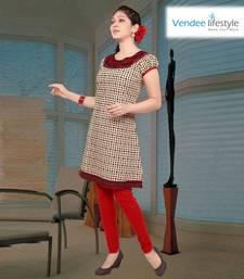 Buy Vendee lifestyle fabulous fashion kurti (K02-28) kurtas-and-kurti online