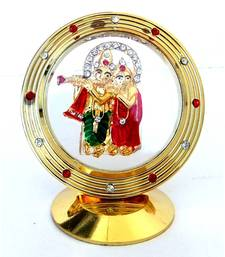 Buy Radha Krishna Dashboard idol congratulation-gift online