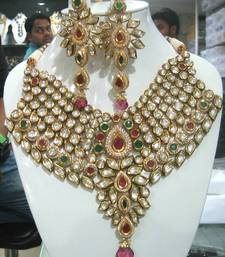 Buy Real kundan 8 ct.set 088 necklace-set online