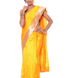 Buy Tusser Gold tussar-silk-saree online