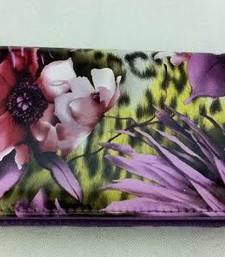 Buy Zippered floral print wallet clutch clutch online