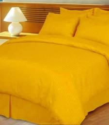 Buy Just Linen  King SizePremium Self Design Quilted Comforter - 1  cm Stripe quilt online