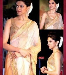 Buy Bollywood replica deepika padukone chennai express saree deepika-padukone-saree online