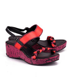 Buy Pink genuine leather footwear footwear online
