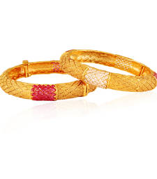 Buy Womens Desire Gold plated american diamond bangle bangles-and-bracelet online
