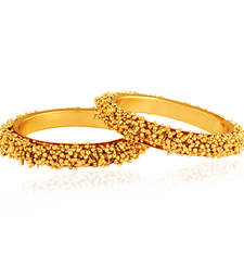 Buy Royally Rich Gold plated antique bangle bangles-and-bracelet online