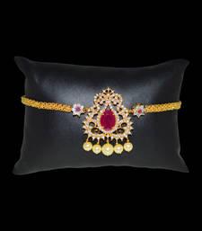 Buy ruby traditional design adjustable bajuband bajuband online