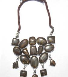 Buy Brown Chunky Necklace Necklace online, Buy Necklaces online