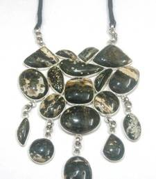 Buy Tiger Stone Chunky Necklace Necklace online, Buy Necklaces online