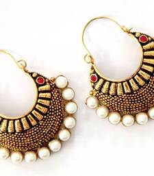 Buy ANTIQUE GOLD PLATED PINK STONE BALI Other online