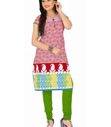 Buy Multicolor cotton printed stitched kurti kurtis-below-500 online