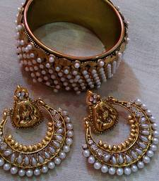 Designer Kada with Ram Leela Earings shop online