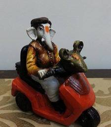 Buy Ganesha Riding Bike ganesh-chaturthi-gift online