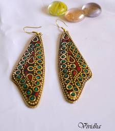 Buy Tibetan Style Colourful Earrings gifts-for-her online