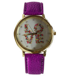 Buy Purple desiner watch gifts-for-sister online