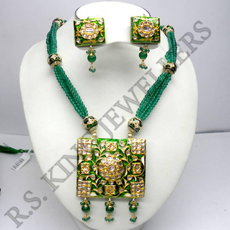 Buy Kundan Meena Jewellery Online