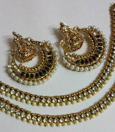 Buy Designer Ram Leela Earings with Traditional Anklets anklet online
