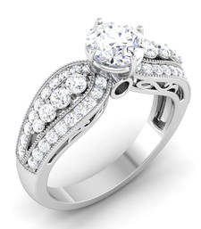 Signity Sterling Silver Nagpur Ring shop online