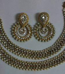 Buy Designer Fancy Earings with Traditional Anklets anklet online