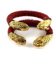 Buy Classy meenakari moti stretchable bangles bangles-and-bracelet online