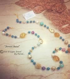 Buy Ferozi Baeil - Neckline cum Wrist String Necklace online