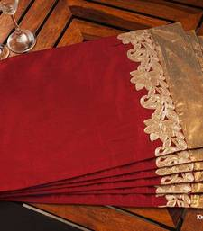 Buy Table mat - Maroon table-mats-and-runner online