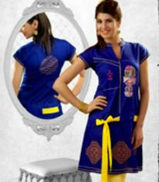 Buy Awesome Designer Cotton Kurti kurtas-and-kurti online