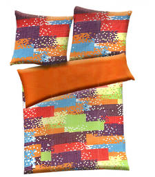 Buy Multicolor polyester abstract print single bed  ac quilt quilt online