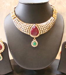 Buy Design no. 10b.3467....Rs. 2950 necklace-set online