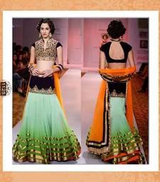 Buy DESIGNER PADDING LAHENGA eid-sarees-dress online