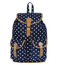 Buy Blue canvas lucy backpack backpack online