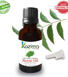 Buy Neem essential oil (15ml) 100% pure natural and undiluted oil essential-oil online