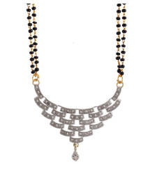 Buy American Diamond Multicolor Mangalsutra For Women mangalsutra online