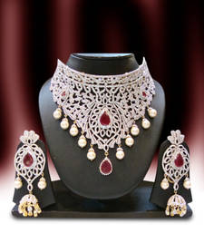 Buy Design no. 12.2189B....Rs. 18950 necklace-set online