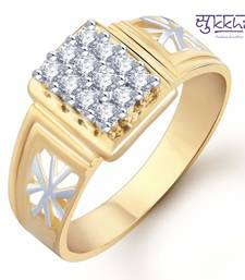 Buy Sukkhi Gold and Rhodium Plated CZ Ring for Men(102GRK510) gifts-for-him online