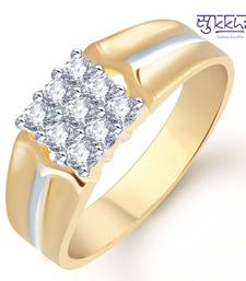 Buy Sukkhi Gold and Rhodium Plated CZ Ring for Men(112GRK510) gifts-for-him online