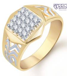 Buy Sukkhi Gold and Rhodium Plated CZ Ring for Men(117GRK600) gifts-for-him online