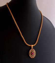 Buy Ruby necklace -4 Pendant online