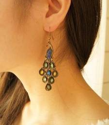 Buy Classic Peacock Earrings gifts-for-her online