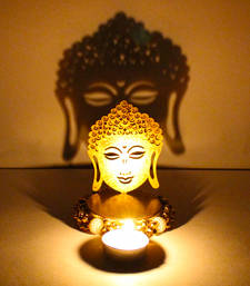 Buy Exclusive shadow diya tealight candle holder of removable buddha new-year-gift online